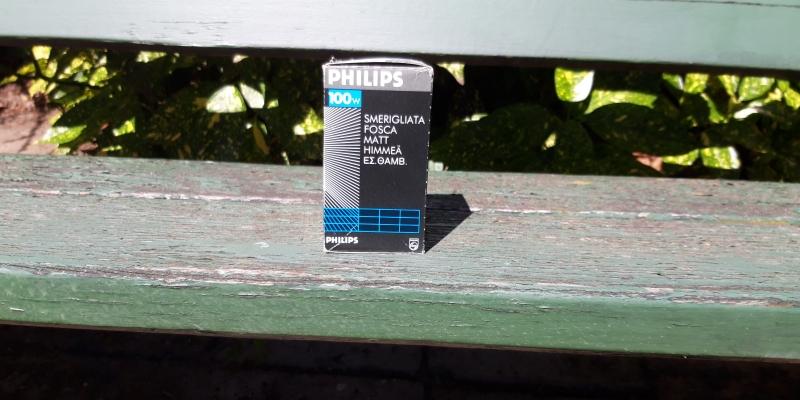 lampje Philips 100 watt