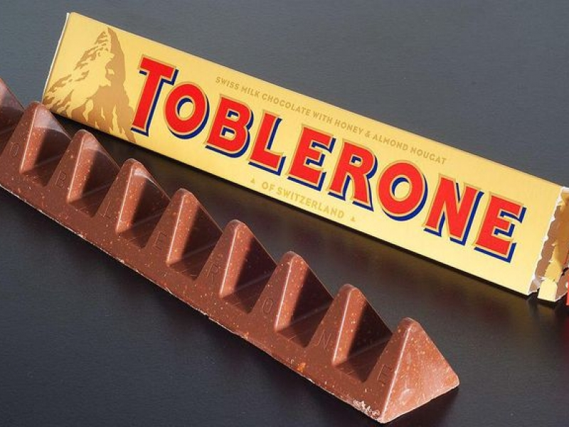 Toblerone reep