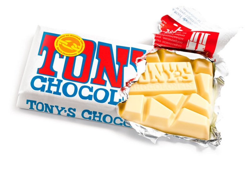 Tony Chocolonely reep wit